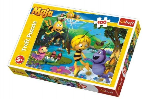 Puzzle Včelka Mája s přáteli