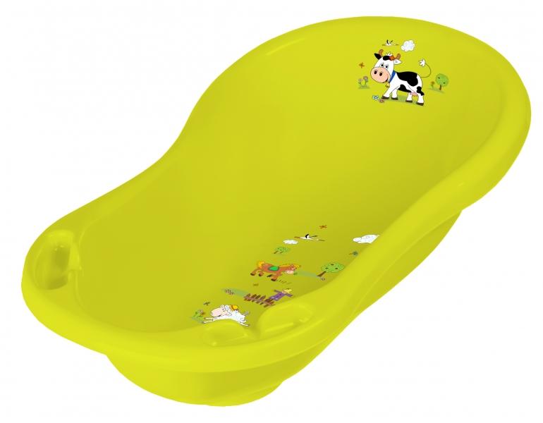 keeeper-detska-vanicka-funny-farm-84cm-zelena