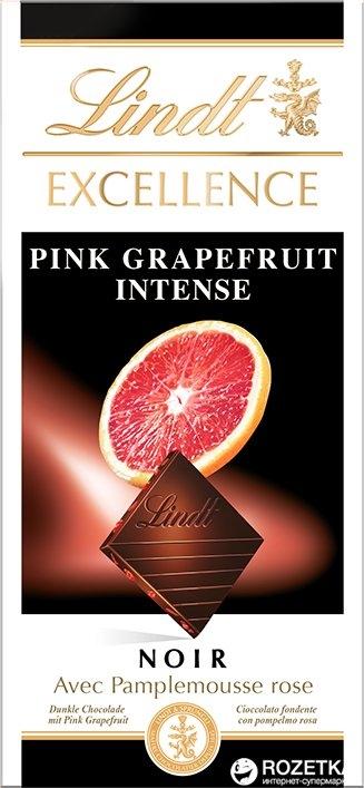 Lindt Excellence Pink Grapefruit Intense 100 g