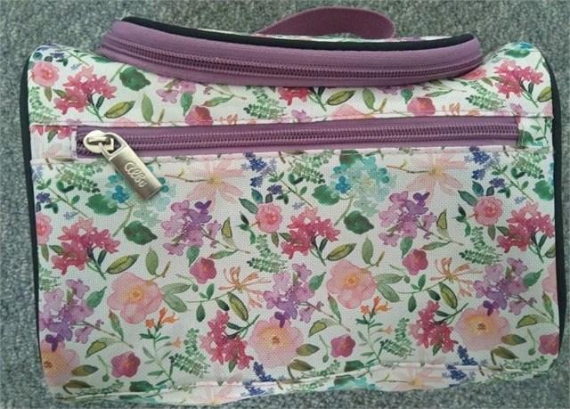 Cestovní kosmetické kufříky - Kufřík - Hortenzie