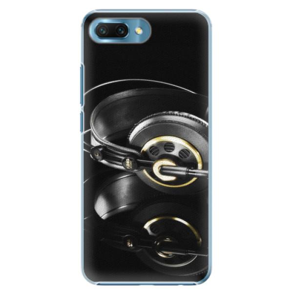 Plastové pouzdro iSaprio - Headphones 02 - Huawei Honor 10