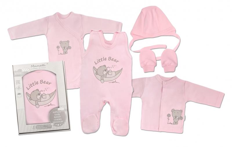 mamatti-novorozenecka-sada-do-porodnice-ruzova-medvidek-50-0-1m