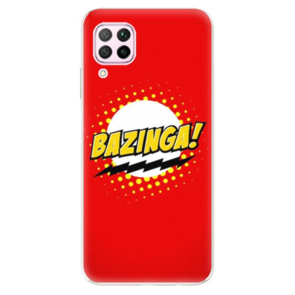 Odolné silikonové pouzdro iSaprio - Bazinga 01 - Huawei P40 Lite