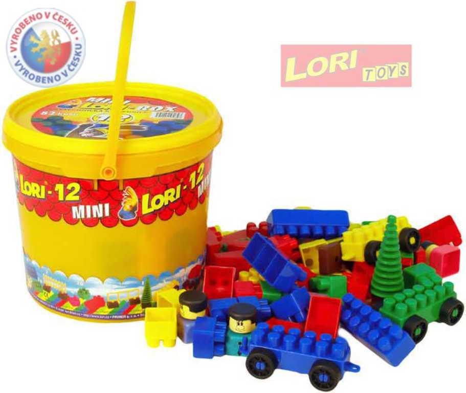 LORI 012 Stavebnice polytechnická kbelíček 12