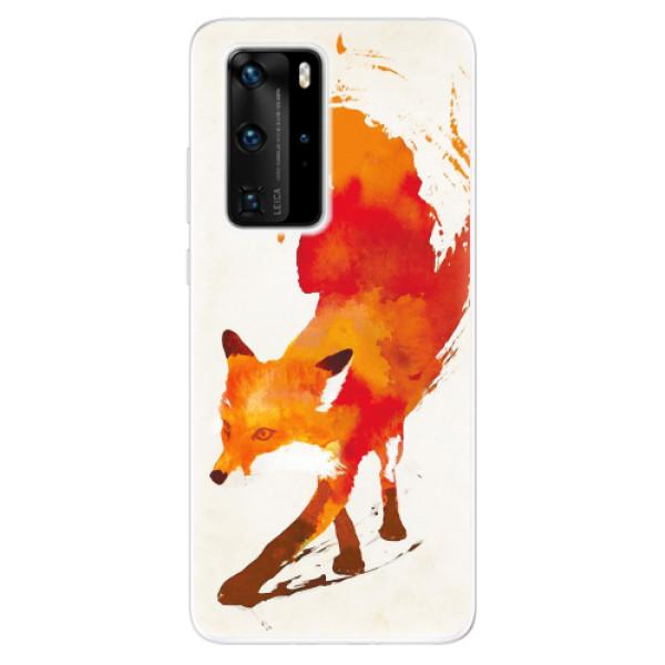 Odolné silikonové pouzdro iSaprio - Fast Fox - Huawei P40 Pro
