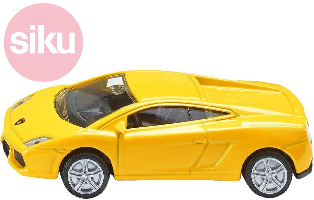 SIKU Model auto sportovní Lamborghini Gallardo žluté 1:55 kov