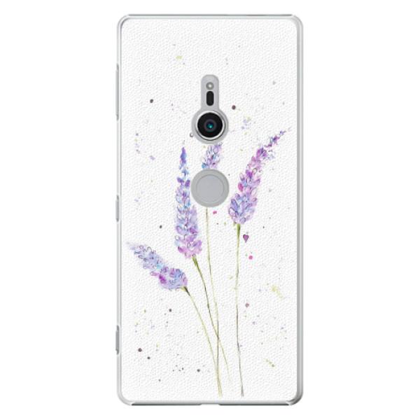 Plastové pouzdro iSaprio - Lavender - Sony Xperia XZ2