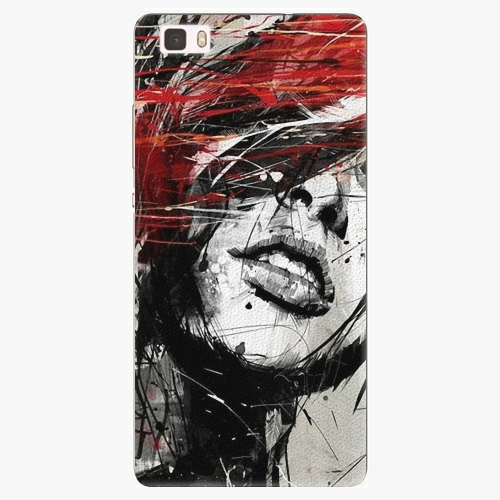 Plastový kryt iSaprio - Sketch Face - Huawei Ascend P8 Lite