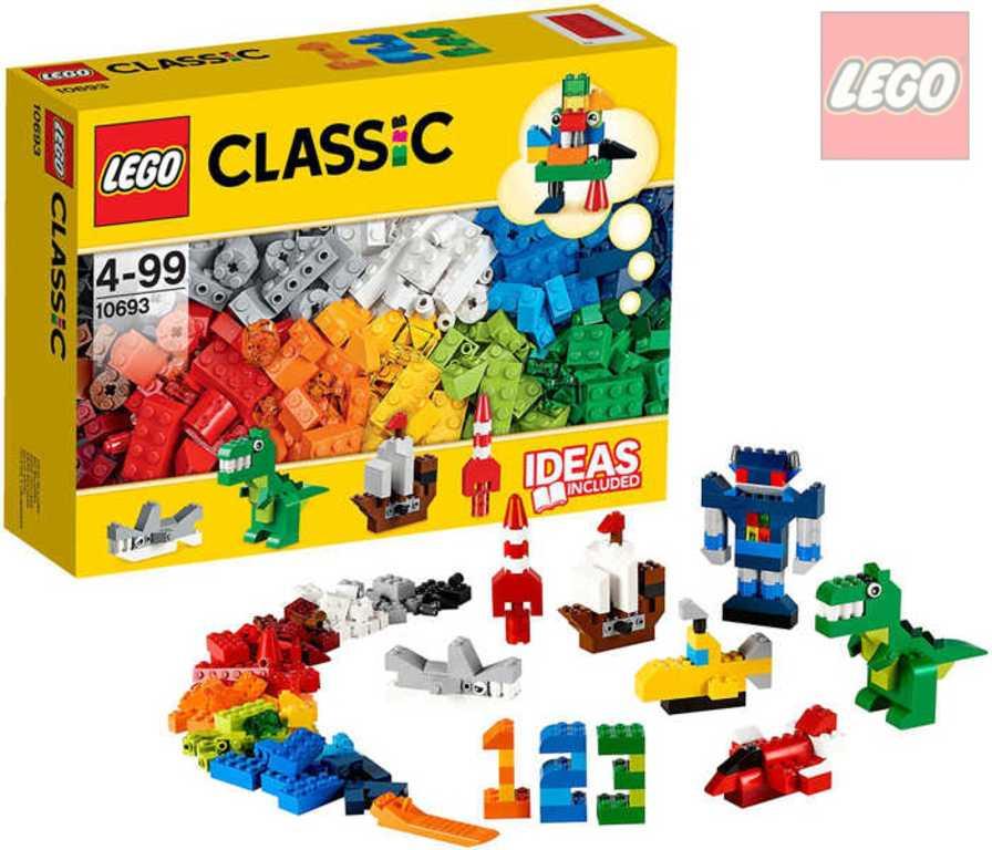 LEGO CLASSIC Barevné kostky s doplňky STAVEBNICE 10693