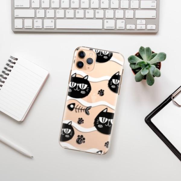 Plastové pouzdro iSaprio - Cat pattern 04 - iPhone 11 Pro Max
