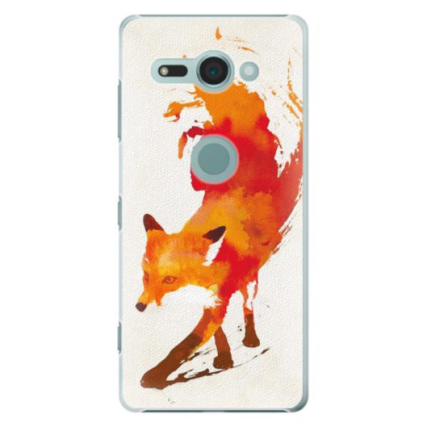 Plastové pouzdro iSaprio - Fast Fox - Sony Xperia XZ2 Compact