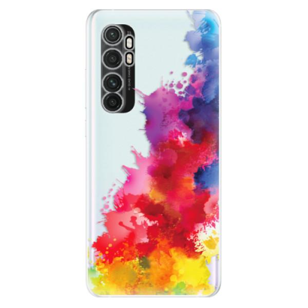 Odolné silikonové pouzdro iSaprio - Color Splash 01 - Xiaomi Mi Note 10 Lite