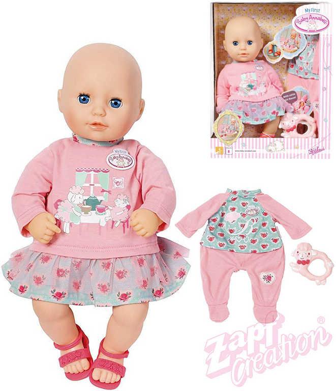 ZAPF BABY ANNABELL My first Baby set panenka miminko s oblečky a doplňky
