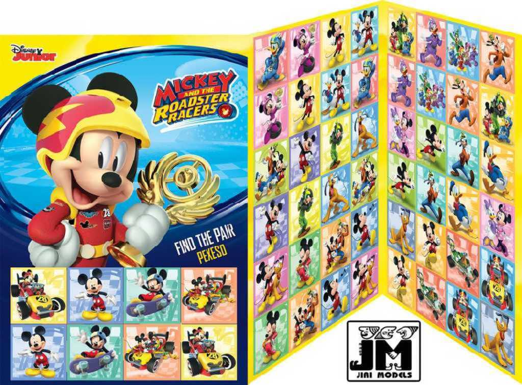 JIRI MODELS Hra pexeso Disney Mickeyho klubík
