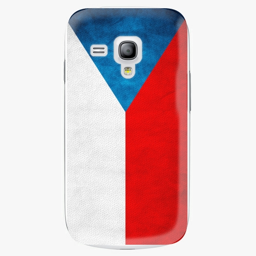 Plastový kryt iSaprio - Czech Flag - Samsung Galaxy S3 Mini