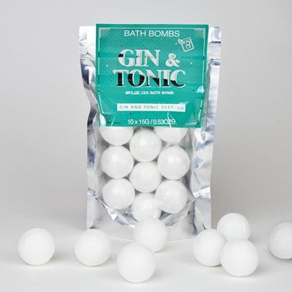Šumivé koule do koupele - Gin & Tonic