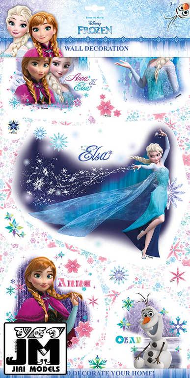 JIRI MODELS 2D Samolepky na zeď Ledové Království (Frozen)