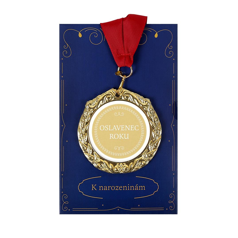 ALBI Přání s medailí - Oslavenec roku