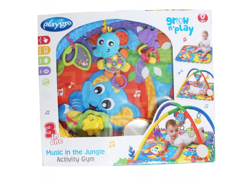 Playgro - Hrací deka džungle