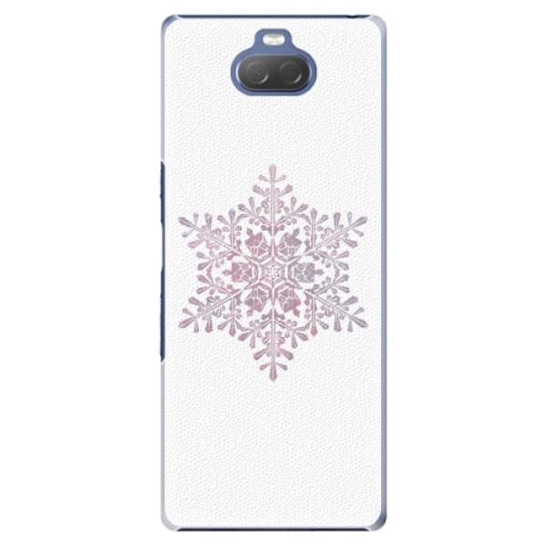 Plastové pouzdro iSaprio - Snow Flake - Sony Xperia 10