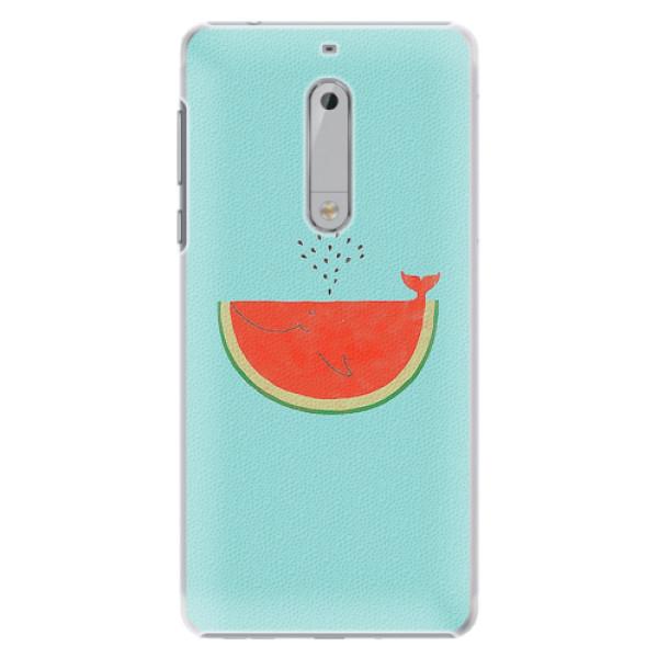 Plastové pouzdro iSaprio - Melon - Nokia 5