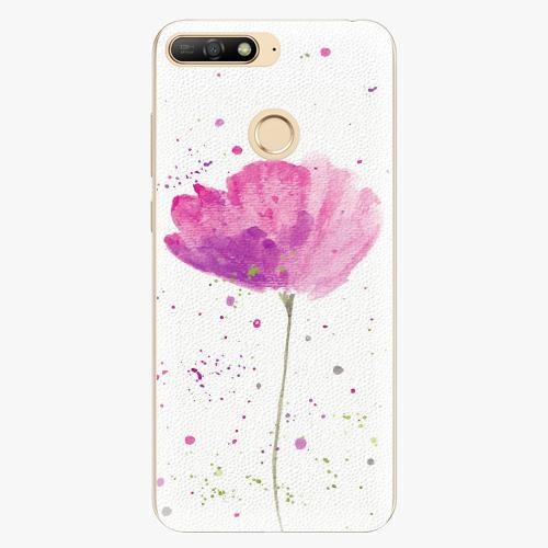 Plastový kryt iSaprio - Poppies - Huawei Y6 Prime 2018