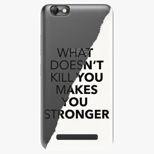 Plastový kryt iSaprio - Makes You Stronger - Lenovo Vibe C