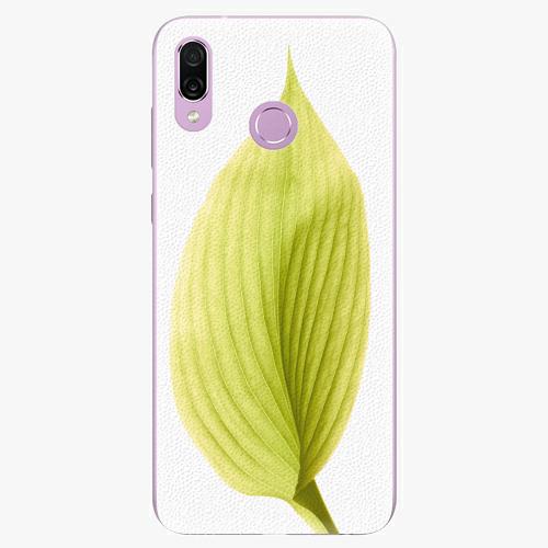 Silikonové pouzdro iSaprio - Green Leaf - Huawei Honor Play