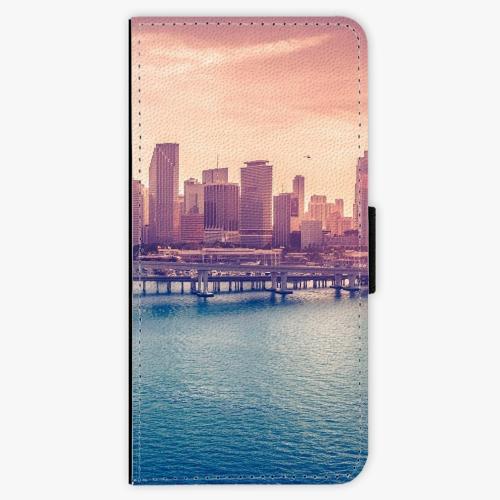 Flipové pouzdro iSaprio - Morning in a City - Samsung Galaxy A3 2017