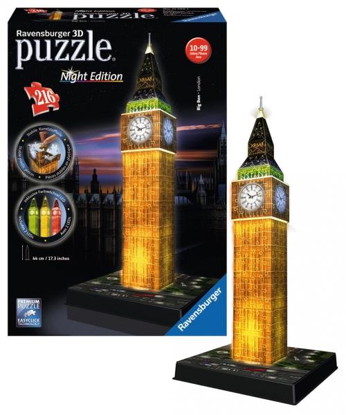 rappa-puzzle-3d-big-ben-nocni-edice-216-dilu