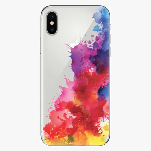 Plastový kryt iSaprio - Color Splash 01 - iPhone X