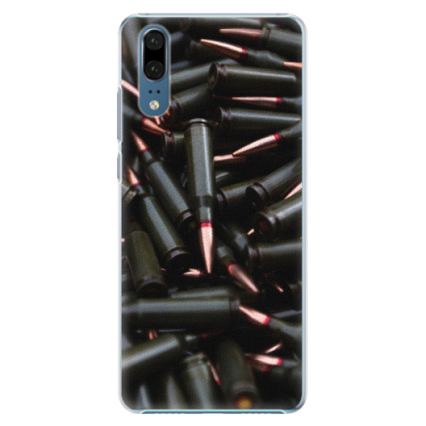 Plastové pouzdro iSaprio - Black Bullet - Huawei P20