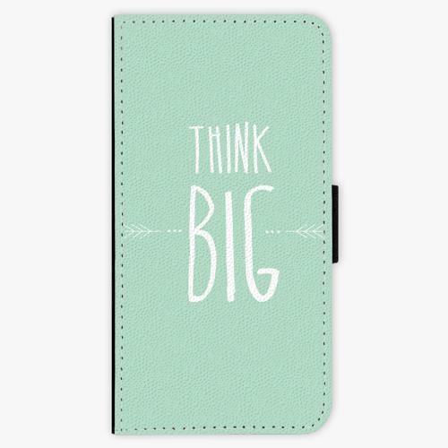 Flipové pouzdro iSaprio - Think Big - iPhone 8