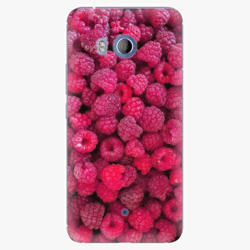 Plastový kryt iSaprio - Raspberry - HTC U11