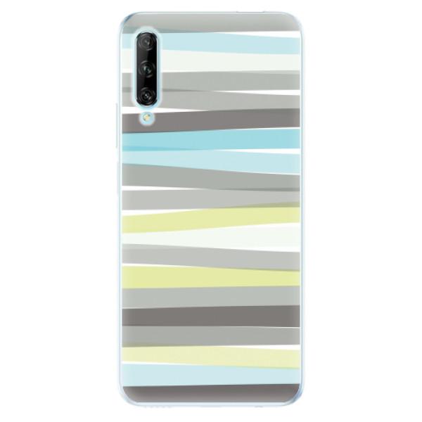 Odolné silikonové pouzdro iSaprio - Stripes - Huawei P Smart Pro