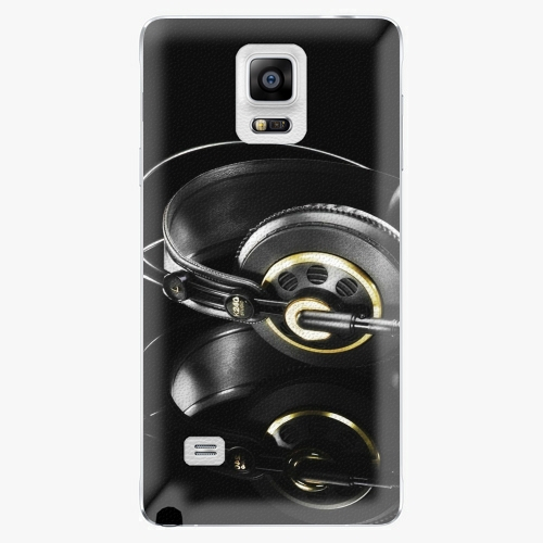 Plastový kryt iSaprio - Headphones 02 - Samsung Galaxy Note 4