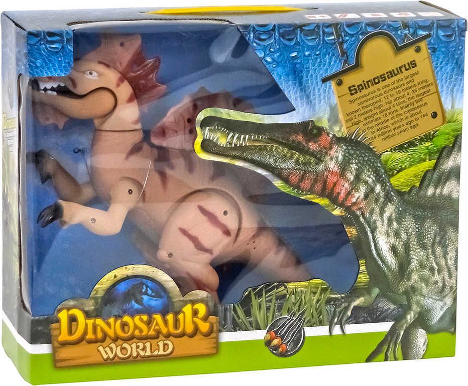 Dinosaurus ještěr funkční Spinosaurus na baterie Světlo Zvuk