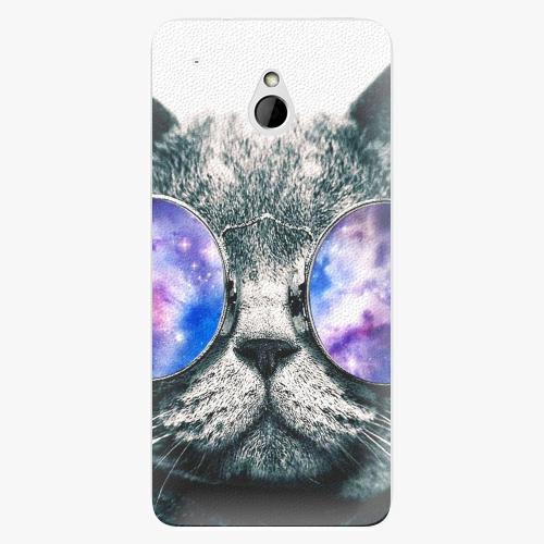 Plastový kryt iSaprio - Galaxy Cat - HTC One Mini