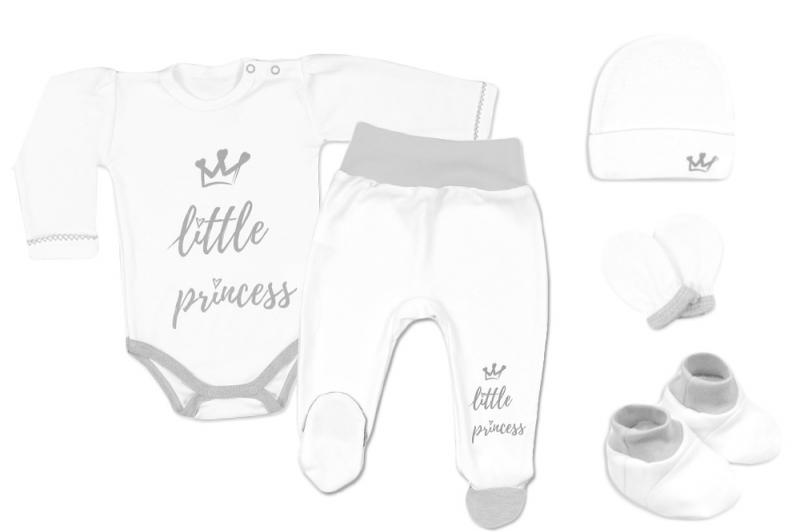 Baby Nellys 5-ti dílná soupravička do porodnice Little