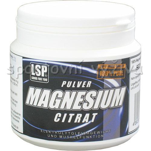 Magnesium citrate pulver 500g