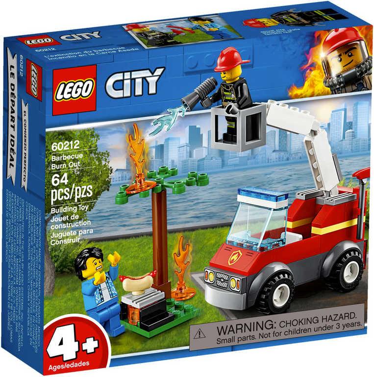 LEGO CITY Grilování a požár 60212