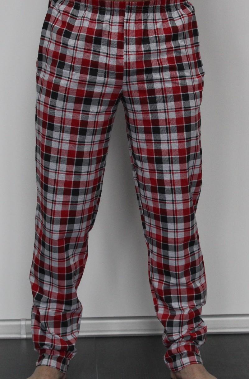 Pánské kárované kalhoty 362 BIG
