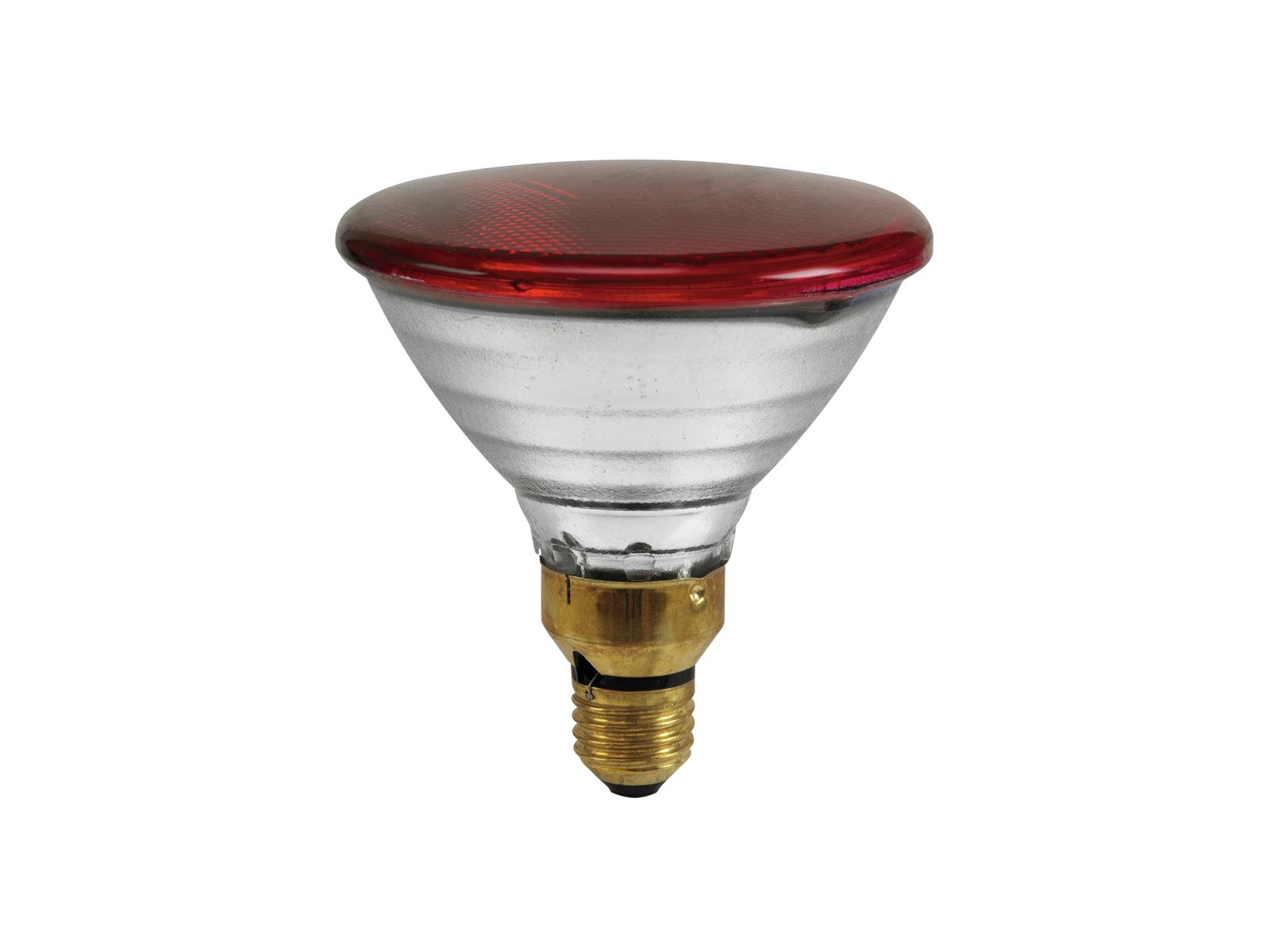 PAR 38 230V/80W FL E27 Omnilux červená