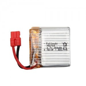 380mAh 3.7V LiPo do Syma X21/X21W