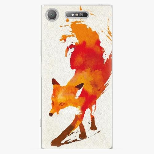 Plastový kryt iSaprio - Fast Fox - Sony Xperia XZ1