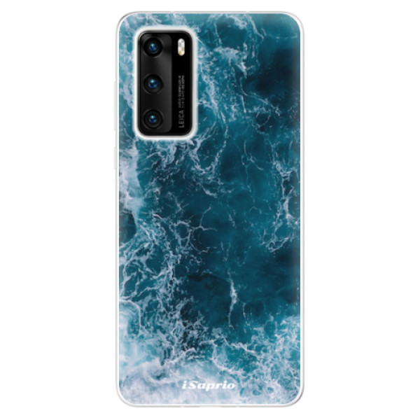 Odolné silikonové pouzdro iSaprio - Ocean - Huawei P40