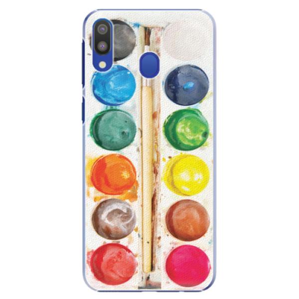 Plastové pouzdro iSaprio - Watercolors - Samsung Galaxy M20