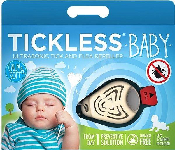 Ultrazvukový repelent TickLess Baby proti klíšťatům