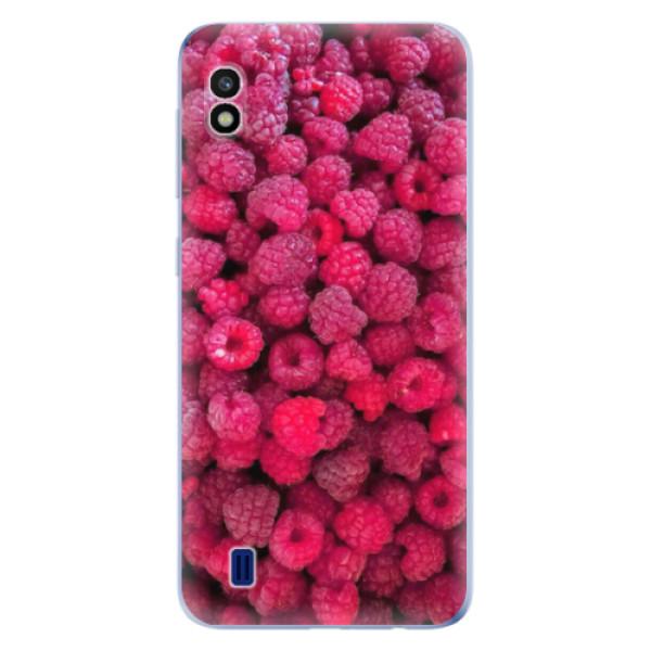 Odolné silikonové pouzdro iSaprio - Raspberry - Samsung Galaxy A10
