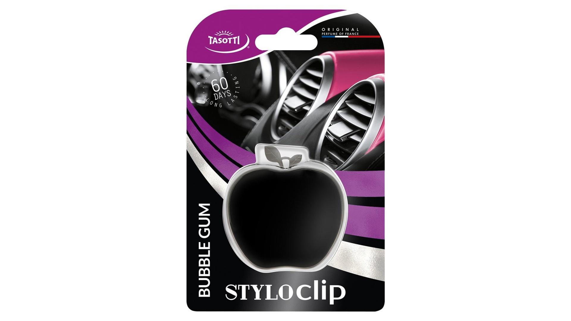 TASOTTI Stylo clip bubble gum